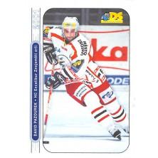 Pazourek David - 2000-01 DS No.108