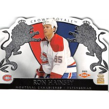 Hainsey Ron - 2002-03 Crown Royale Retail No.123