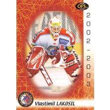 Lakosil Vlastimil - 2002-03 OFS No.90