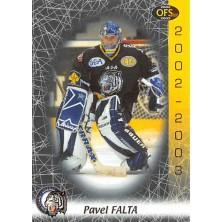 Falta Pavel - 2002-03 OFS No.149