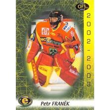 Franěk Petr - 2002-03 OFS No.278