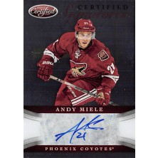 Miele Andy - 2012-13 Certified Signatures No.CS-AM