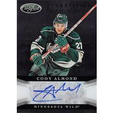 Almond Cody - 2012-13 Certified Signatures No.CS-CAL