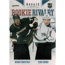 Smith-Pelly Devante, Voynov Slava - 2011-12 Rookie Anthology Rookie Rivalry Dual Jerseys No.1