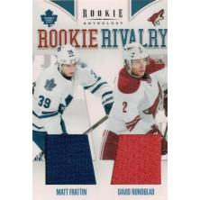 Frattin Matt, Rundblad David - 2011-12 Rookie Anthology Rookie Rivalry Dual Jerseys No.44