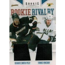 Smith-Pelly Devante, Vincour Tomáš - 2011-12 Rookie Anthology Rookie Rivalry Dual Jerseys No.51