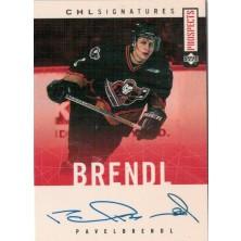 Brendl Pavel - 2000-01 CHL Prospects Autographs No.A-PB
