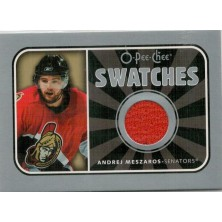 Meszaros Andrej - 2006-07 O-Pee-Chee Swatches - red No.S-AM