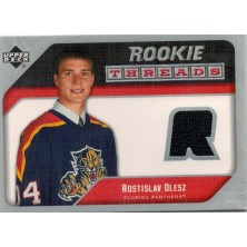 Olesz Rostislav - 2005-06 Upper Deck Rookie Threads - black No.RT-RO