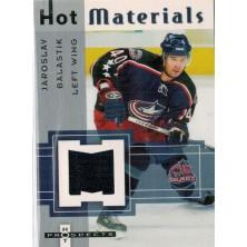 Balaštík Jaroslav - 2005-06 Hot Prospects Hot Materials No.HM-JB