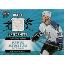 Demitra Pavol - 2006-07 Ultra Uniformity No.U-DE