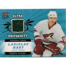 Nagy Ladislav - 2006-07 Ultra Uniformity - green No.U-LN