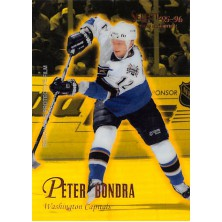 Bondra Peter - 1995-96 Select Certified Mirror Gold No.51