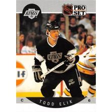 Elik Todd - 1990-91 Pro Set No.116