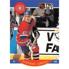 Lebeau Stephan - 1990-91 Pro Set No.152