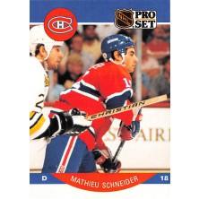 Schneider Mathieu - 1990-91 Pro Set No.158