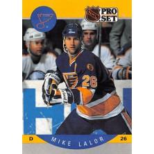 Lalor Mike - 1990-91 Pro Set No.264