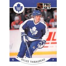 Thibaudeau Gilles - 1990-91 Pro Set No.290