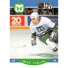 Tomlak Mike - 1990-91 Pro Set No.452