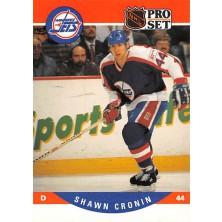 Cronin Shawn - 1990-91 Pro Set No.559