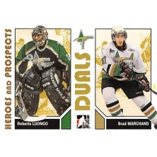 Luongo Roberto, Marchand Brad - 2007-08 ITG Heroes and Prospects No.99
