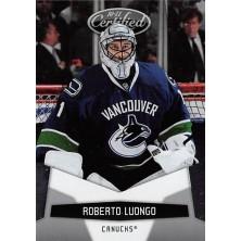 Luongo Roberto - 2010-11 Certified No.142