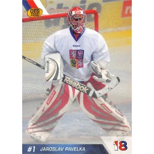 Pavelka Jaroslav - 2010-11 OFS Reprezentace ČR-18 No.6