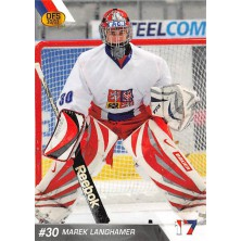 Langhamer Marek - 2010-11 OFS Reprezentace ČR-17 No.13
