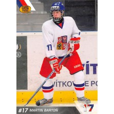 Bartoň Martin - 2010-11 OFS Reprezentace ČR-17 No.14