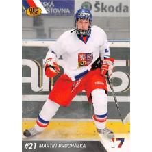 Procházka Martin - 2010-11 OFS Reprezentace ČR-17 No.16