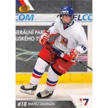 Zadražil Matěj - 2010-11 OFS Reprezentace ČR-17 No.17