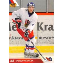 Řezníček Dalibor - 2010-11 OFS Reprezentace ČR-20 No.5