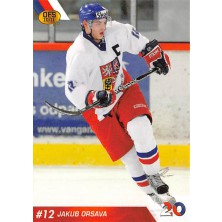 Orsava Jakub - 2010-11 OFS Reprezentace ČR-20 No.8