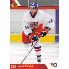 Šlahař Jakub - 2010-11 OFS Reprezentace ČR-20 No.9