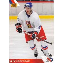 Hruzík Lukáš - 2010-11 OFS Reprezentace ČR-20 No.11