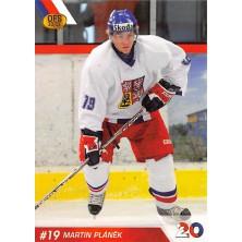 Pláněk Martin - 2010-11 OFS Reprezentace ČR-20 No.15