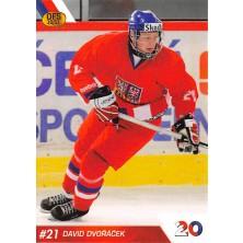 Dvořáček David - 2010-11 OFS Reprezentace ČR-20 No.25