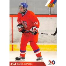 Koudela David - 2010-11 OFS Reprezentace ČR-20 No.26