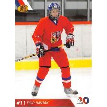Hanták Filip - 2010-11 OFS Reprezentace ČR-20 No.28