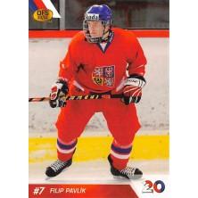 Pavlík Filip - 2010-11 OFS Reprezentace ČR-20 No.29
