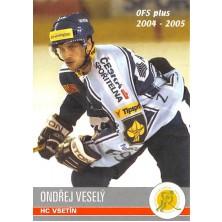 Veselý Ondřej - 2004-05 OFS No.268
