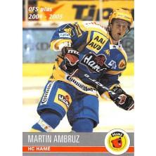 Ambruz Martin - 2004-05 OFS No.270