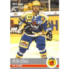 Leška Petr - 2004-05 OFS No.283