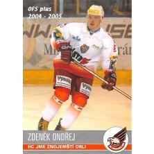 Ondřej Zdeněk - 2004-05 OFS No.298