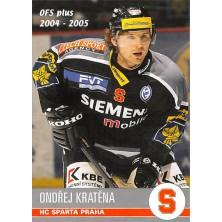 Kratěna Ondřej - 2004-05 OFS No.326