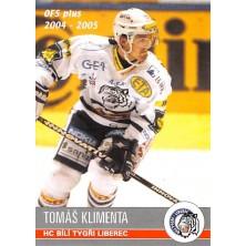 Klimenta Tomáš - 2004-05 OFS No.338