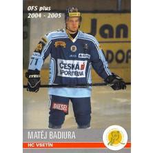 Badiura Matěj - 2004-05 OFS No.391