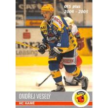 Veselý Ondřej - 2004-05 OFS No.400