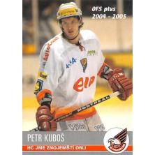 Kuboš Petr - 2004-05 OFS No.404