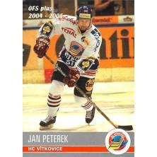 Peterek Jan - 2004-05 OFS No.411